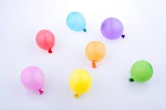 Bunte kleine Ballone Lizenzfreies Stockbild