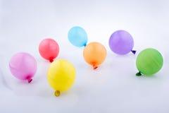 Bunte kleine Ballone Lizenzfreie Stockfotografie