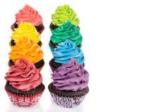Bunte kleine Kuchen Lizenzfreie Stockbilder