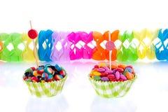 Bunte kleine Süßigkeit Lizenzfreies Stockbild