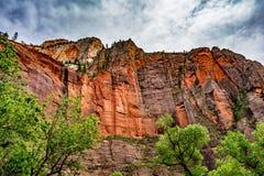 Bunte Klippen bei Zion National Park, Utah Lizenzfreies Stockbild