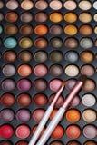 Bunte Kosmetik eingestellt lizenzfreie stockfotografie