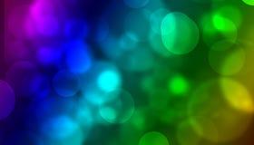 Bunte Leuchten stock abbildung