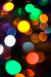Bunte Leuchten Lizenzfreies Stockbild