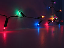 Bunte Leuchten lizenzfreies stockfoto