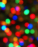 Bunte Leuchten verwischt Lizenzfreies Stockfoto