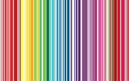 Bunte Linie Musterhintergrund-Vektorillustration Stockbilder