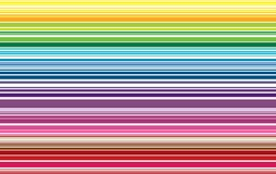 Bunte Linie Musterhintergrund-Vektorillustration Stockfotos
