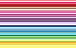 Bunte Linie Musterhintergrund-Vektorillustration Stockfotografie