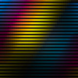 Bunte Linien Wand-Hintergrund Stockfotos