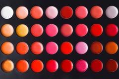 Bunte Lippenpalette Stockbilder