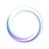 Bunte Logoform Lizenzfreies Stockbild