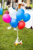Bunte lustige Ballone Lizenzfreie Stockfotos