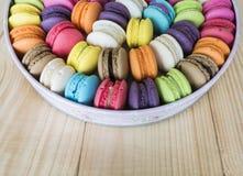 Bunte macarons 15 Lizenzfreies Stockbild