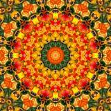 Bunte Mandala Stockbild