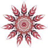 Bunte Mandala Aribic Ethnische Stammes- Verzierungen vektor abbildung