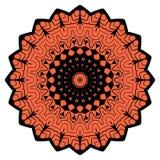 Bunte Mandala auf dem weißen Hintergrund Stockfoto