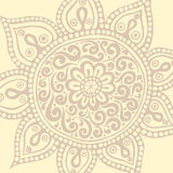 Bunte Mandala Dekorative runde Verzierungen Stockbilder