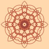 Bunte Mandala Ethnische Stammes- Verzierungen vektor abbildung
