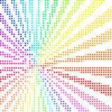 Bunte Mosaikauslegung Stockfoto