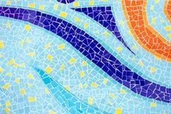 Bunte Mosaikfliese Stockfotografie