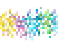 Bunte Mosaikmusterauslegung Lizenzfreie Stockbilder