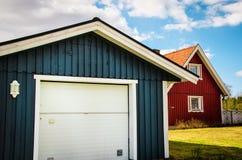 Bunte Nachbarschaft lizenzfreie stockbilder