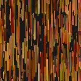 Bunte nahtlose vertikale Steigung rundete Streifenhintergrundmuster Lizenzfreie Abbildung
