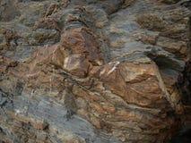 Bunte Natursteinoberflächennahaufnahme lizenzfreies stockfoto