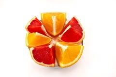 Bunte Orangen Lizenzfreie Stockfotografie