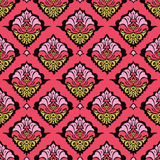 Bunte orientalische Damasttapete Stockbilder