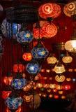 bunte orientalische Lampen Lizenzfreie Stockfotografie