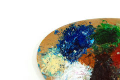 Bunte Palette stockbild