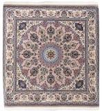Bunte persische islamische des arabischen Teppichs handcraft Stockbild