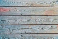 Bunte Planke des Holzes lizenzfreies stockfoto