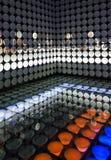 Bunte Plattenanzeige im Spanien-Pavillon Lizenzfreie Stockfotos