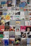 bunte poastcards Lizenzfreie Stockbilder