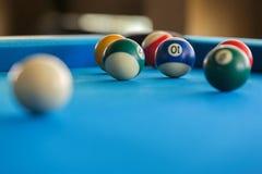 Bunte Pool-Kugeln Stockfotografie