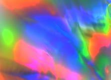 Bunte psychedelische abstrakte Vertretungsdruckverteilung im Plastik lizenzfreie stockbilder