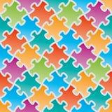 Bunte Puzzlen Stockfotografie