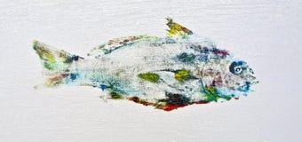 Bunte Quakfisch-Fische stockbilder