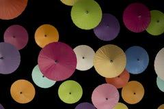 Bunte Regenschirme Lizenzfreie Stockfotos