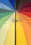 Bunte Regenschirmnahaufnahme stockfotografie