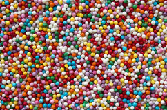 Bunte runde Süßigkeitsbeschaffenheit Stockfotografie