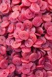 Bunte Süßigkeit dreht rotes Purpur Stockfotografie