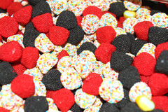 Bunte Süßigkeitbonbons Lizenzfreie Stockfotos