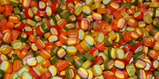 Bunte Süßigkeitbonbons Stockfotografie
