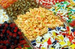 Bunte Süßigkeiten Lizenzfreie Stockfotos