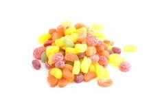 Bunte Süßigkeiten lokalisiert Lizenzfreies Stockfoto