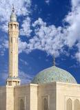 Bunte Sabeeka verbogene Ebrahim Moschee in Bahrain Stockbilder